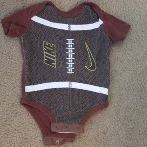 Baby boy football onesie